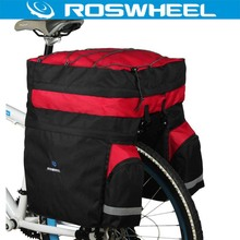 Buy ROSWHEEL 60L Waterproof Mountain Road Bicycle Bike Bag Cycling Double Side Rear Rack Tail Seat Trunk Carrier Pannier Rain Cover for $24.09 in AliExpress store