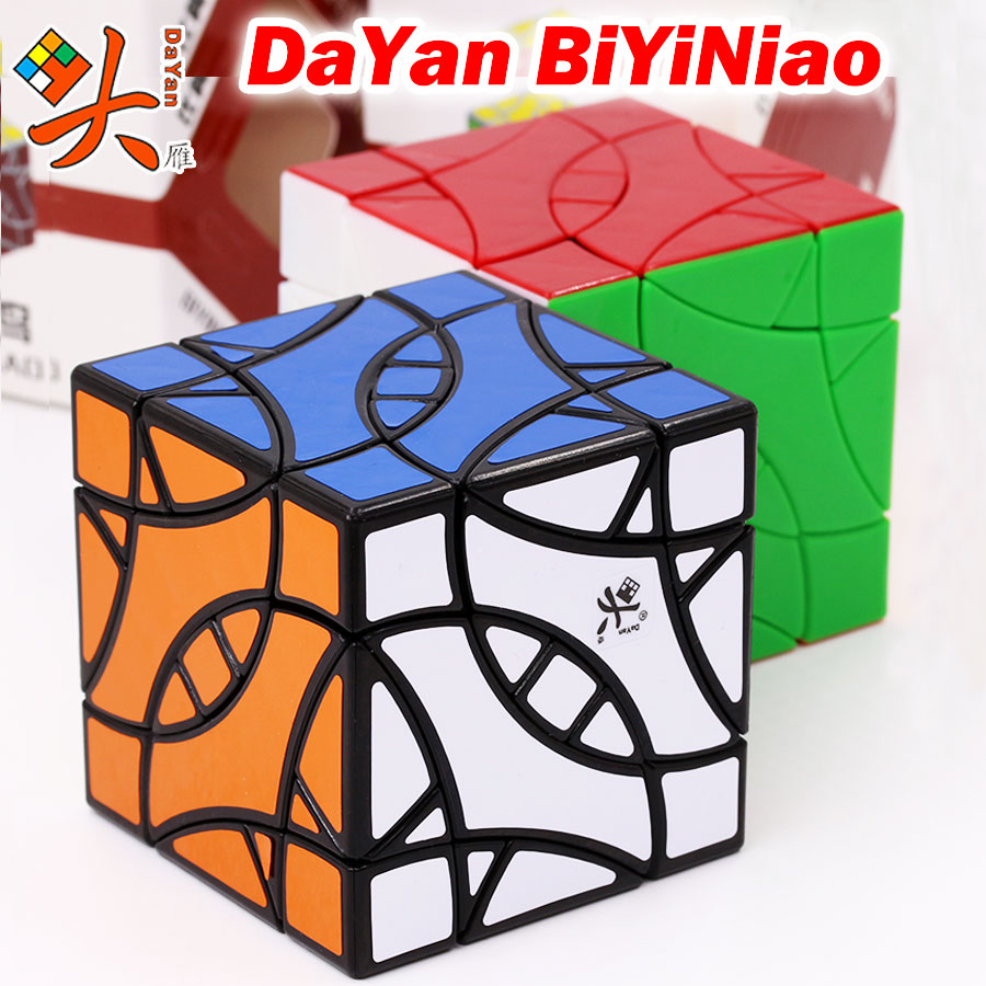 Magic Cube puzzle Dayan 12-axis-3-rank BiYiNiao  strange shape magic professional speed educational cube twist wisdom gift toy Z