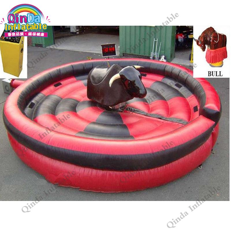 inflatable mechnical bull mat42