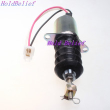 Fuel Shutoff Solenoid for John Deere 3009 3011 3012 3014 3015 4019 4020 Engines(China)