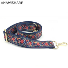 ANAWISHARE Handbag Belt Flower Strap For Bags Belt Replacement Handbag Strap Accessory Bag Part Adjustable Belt For Bag 120cm