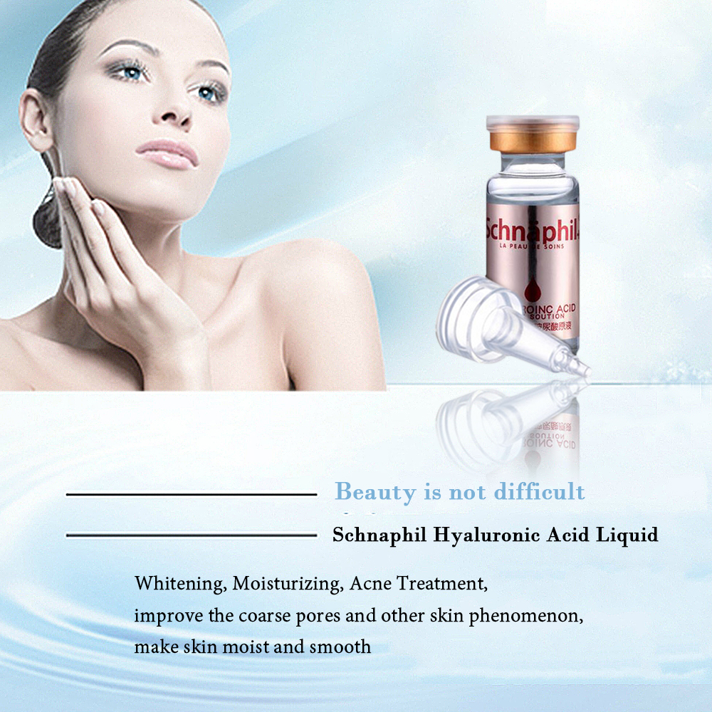 Whitening treatment as is indicated by comparison to the whitening - Hyaluronic Acid Serum Face Cream Treatment Face Care Skin Whitening Cream Acne Pimples Anti Wrinkle Moisturizing