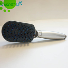 Free shipping oxygenics comb shower head boost pressurize square hand shower bathroom abs plastic clean hair