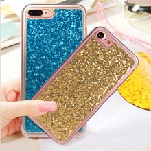 Buy Luxury Phone Cases Cover iphone 7 Case Glitter Bling Soft TPU Capa Shine Case iphone7 6 6S Plus Coque Colorful Shining for $1.14 in AliExpress store