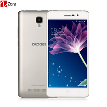 "Original Doogee X10 Smartphone 3G WCDMA 5.0"" Android 6.0 MTK6570 Dual Core Cell phones RAM 512M ROM 8GB 5MP 3360mAh Mobile phone(China)"