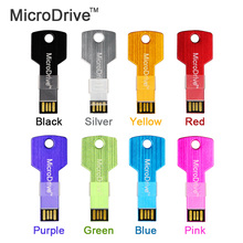 New Usb Flash Drive 2016 Colorful Key High Speed 8G/16G/32G/64G Real capacity Usb 2.0 Memory USB Stick Pen Drive Pendrive(China)