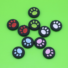 100 pcs Rubber Silicone Cat Claw Analog Thumb Sticks Grips for Playstation 4 PS4 for PS3 Controller Caps for XBox 360