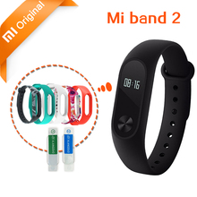 Stock Original Xiaomi mi band 2 Bracelet Smart Wristband mi band 2 Miband Smart Watch Fitness Tracker Heart Rate Touchpad OLED