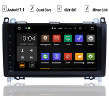 9''Car DVD GPS Player For Mercedes Benz Vito Viano Sprinter W169 W245 W469 W906 Android 7.1 Radio BT 2GB RAM+16GB ROM+16GB Map