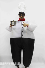 Chef Inflatable Costume Adult Fancy Dress Suit Party Halloween Costumes For Women Christmas Xmas Gift Classic Halloween Costumes