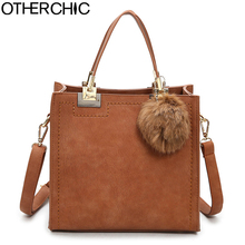 OTHERCHIC Hot Sale Suede Leather Bags Women Brand Designer Handbags High Quality Tote Women Shoulder Messenger Bags L-7N07-05