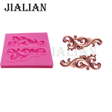 Lace border vine Border silicone cooking mold cake decorating tools gumpaste mould Fondant  Molds DIY Cake fimo T0882