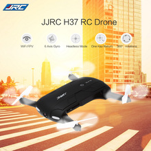 JJRC H37 RC Helicopter ELFIE Foldable Mini RC Selfie Drone Dron WiFi FPV HD G-sensor Headless Mode Drones Control By Phone