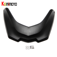 KEMiMOTO For BMW Front Fender Beak Extension extender fit for BMW R1200GS LC 2013 2014 2015 2016 after market Motorcycle Parts