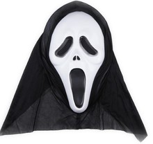 Horror party mask Volto skull mask kids adults Easter Halloween Christmas thriller terrible scream mask veil hat COSPLAY Afraid