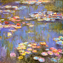 Claude Monet Painting Water Lilies oil on canvas famous impressionist paintings High quality Photos to canvas Hand painted