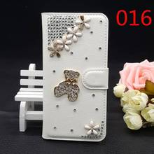 25 Styles For China Mobile A1 M623 M623c Handmade Bling Glitter Rhinestone PU Leather Diamond Luxury Filp Cover Wallet Case DIY