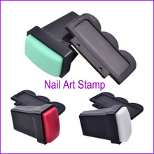 1Pc Image Nail Art Stampers Plate Stamper Nail Art Stamping Plate Rubber Nail Art Stamper Accessory Manicure Tool 2017 New Sale