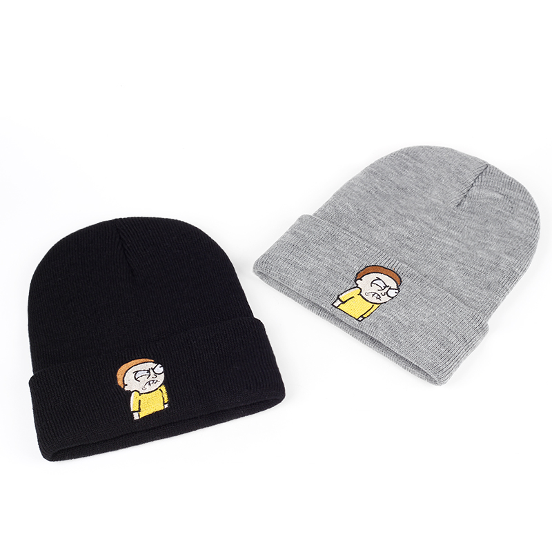 The Angry Morty Knitted Hats