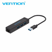 Vention J42 3 Port USB 3.0 HUB And LAN Card With Network Port Fast Ethernet Connection Transfer Adapter