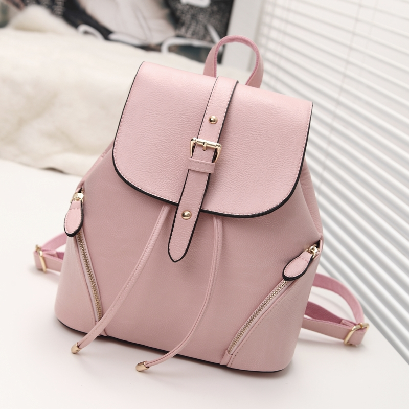 Famous Designer PU Leather Women Backpack Preppy Style Tote Rucksack School Bags Candy Clutch Famous Brand Backpack BP0040<br><br>Aliexpress