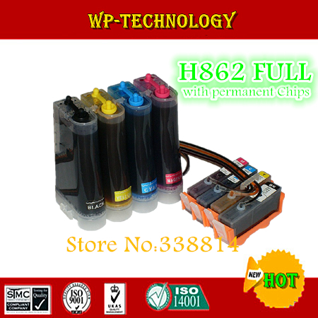 CISS suit for HP862, hp-862 ciss suit for  HPC5324 hpC5370 hpC5373 hpC5380 hpC5383 hpC5388 hpC5390 hpC5393 ,full ink,ARC chip<br><br>Aliexpress