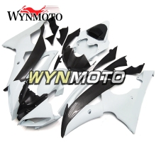 Complete ABS Plastic Injection Carbon Fiber Effect Motorcycle Fairings For Yamaha YZF R6 Year 2008 - 2016 Body Frames(China)