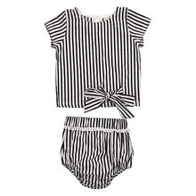 2PCS Newborn Infant Baby Girls Outfit Clothes T-shirt Top+ Short Pants Brief Set 2017 New(China)