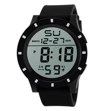 Relogio masculino Men's Fashion LED Digital Touch Screen Day Date Silicone Wrist Watch Hot Gift Horloge 17June29