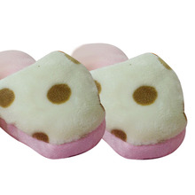 Cute 13~14 cm pink Slipper, Carrot ,Pumpkin ,Donuts Plush Stuffed Cuddly Fluffy toys for children best gift