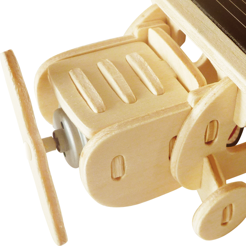 Robud 11 Kinds Solar Energy Powered Plane 3D Wooden Model Building Popular Creative Toys Hobbies Gift for Children,Teens P250 35