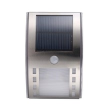 Promotion Solar Panel LED Flood Security Garden Light with PIR Motion Sensor 3LEDs Path Wall Lamps Outdoor Emergency Spot Lamp(China)