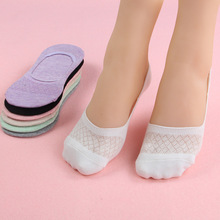 Buy 5 Pairs/ Lot Candy Color Female Cotton Socks Solid Boat Socks Invisible Womens Slipper Socks High Anklet Socks for $5.70 in AliExpress store