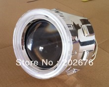 "PROMOTION, CHA DLand ANGEL EYE MINI HID BI-XENON PROJECTOR LENS H1 2.5"" V2, HEADLAMP H1 H4 H7 HB3 HB4 EASY INSTALL"