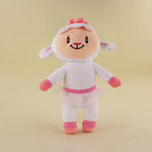 28cm Lovely Doc McStuffins Plush McStuffin Lambie sheep plush Soft Stuffed Animals Doll Toys For Kids Gifts