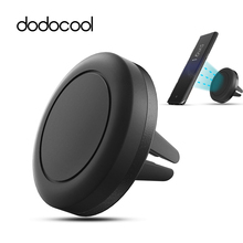 dodocool 360 Degree Universal Magnetic Vehicle Car Mount Air Vent Phone Bracket Stand Holder for iPhone 6/6S Samsung Smartphone(China)