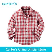 Carter's 1pcs baby children kids Plaid Button-Front Shirt 243G634,sold by Carter's China official store