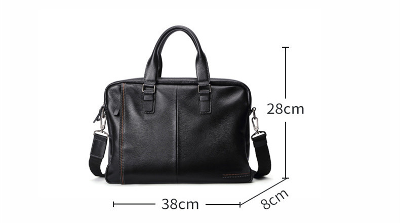 genuine leather briefcase (3)