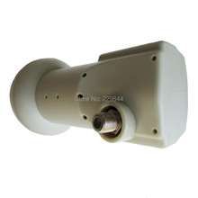 Free Shipping!Female Ku Band LNB Single Output LNB Universal Linear Single FTA LNBF 0.1dB with free shipping(China)
