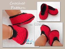 Handmade Baby shoes Crochet baby shoes, Red handmade booties Handknit baby cute shoes flower crochet boots  0-12M Yarn cotton