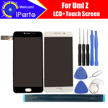 5.5 inch UMI Z LCD Display+Touch Screen 100% Original Tested Digitizer Glass Panel Replacement For UMIDIGI Z 1920x1080+Tools