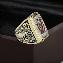 2003 New Jersey Devils NHL Hockey Stanely Cup Championship Ring 10-13 size with cherry wooden case as a gift(China)