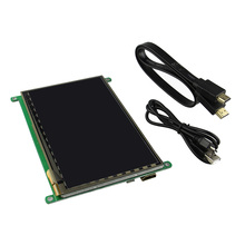 Hot New 7 Inch HDMI Capacitive Touch Screen TFT LCD Display + 1 x HDMI Cable + 1 x USB Cable For Raspberry Pi B/B+/Pi2(China)