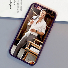 Popular Sebastian Stan Printed Soft Rubber Skin Mobile Phone Cases For iPhone 6 6S Plus 7 7 Plus 5 5S 5C SE 4S Back Shell Cover