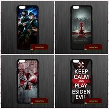 resident evil umbrella Alice Cover case for iphone 4 4s 5 5s 5c 6 6s plus samsung galaxy S3 S4 mini S5 S6 Note 2 3 4   JY0919