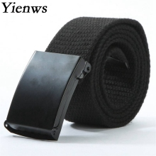 Yienws Boy Belt Strap Military Equipment Western Cowboy Belt For Jeans Kemer Outdoor B003