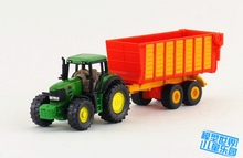 Brand New SIKU Farm Car Toys Tractor With Trailer Diecast Metal Car Model Toy For Gift/Kids/Collection/Christmas