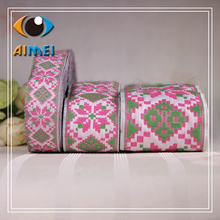 Factory direct national wind, computer jacquard ribbon, fashion COS, clothing production, lace accessories, high quality lace