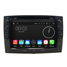 "HD Auto PC 1024*600 Quad Core Dual Din 7"" Android 5.1.1 Car DVD GPS For Renault Megane 2 ii 2003 2004 2005 2006 Radio WiFi DVR"