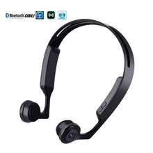 2017New bone conduction Bluetooth 4.1 wireless stereo headset waterproof sports headset support for mobile phone Bluetooth music